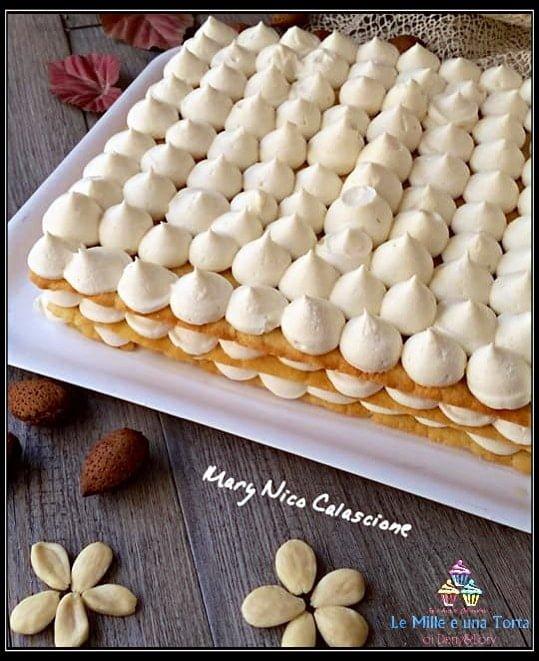 Torta Sfogliata Alle Mandorle E Crema Chantilly Un Dolce Strepitoso 2