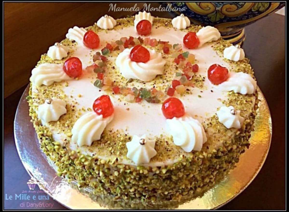 Torta Siciliana Con Crema Di Ricotta 2