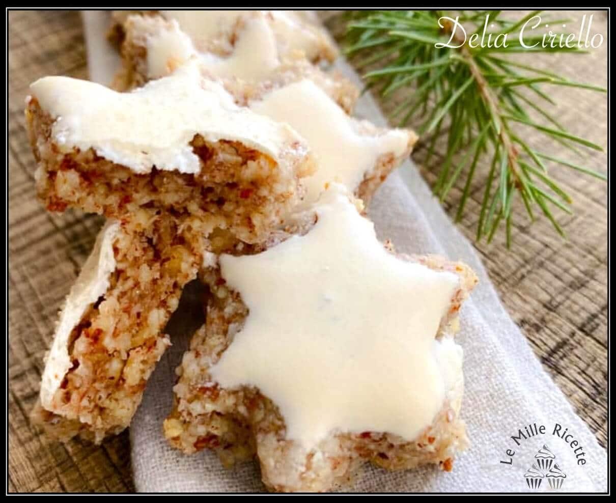 Biscotti Di Natale Zimtsterne.Zimtsterne Biscotti Di Natale Alla Cannella Della Tradizione Tedesca
