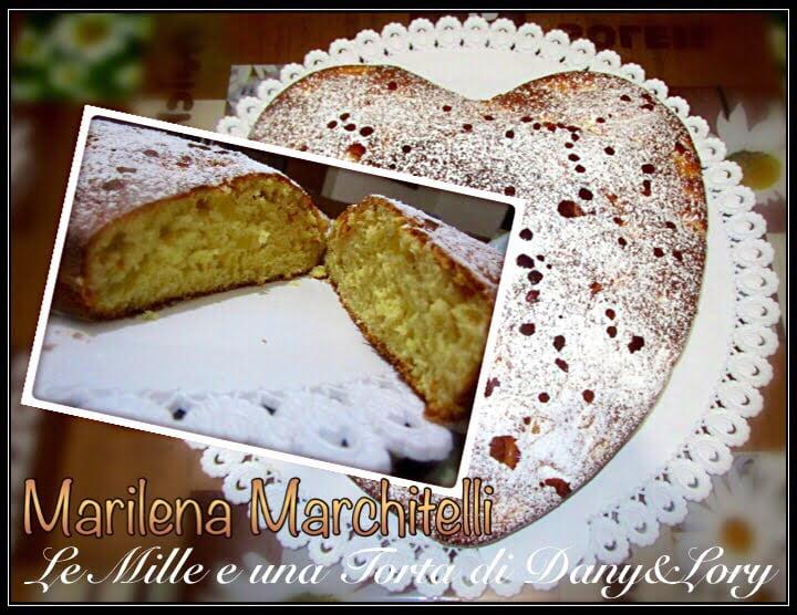 #CUORE #SOFFICE ALLE #MELE DI: MARILENA MARCHITELLI  X LA #RICETTA CLICCATE QUI https://www.lemillericette.it/cuore-soffice-alle-mele/  Trovi le nostre ricette su #LeMilleEunaTortaDiDanyeLory