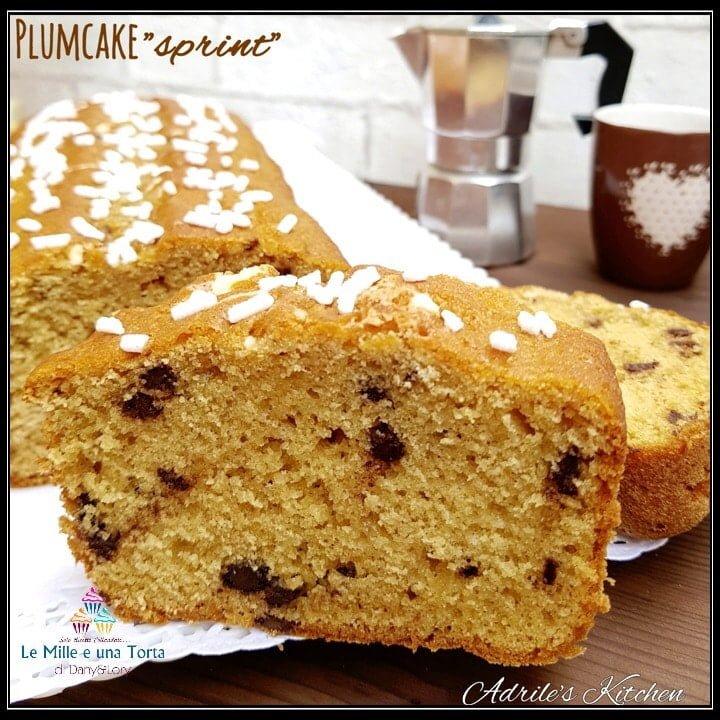 PLUMCAKE SPRINT AL CAFFÈ E GOCCE DI CIOCCOLATO