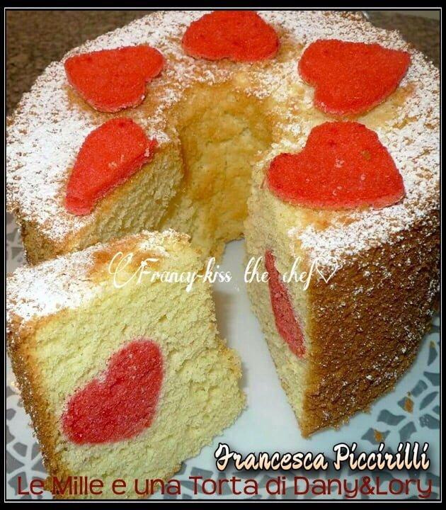 CHIFFON CAKE CON SORPRESA