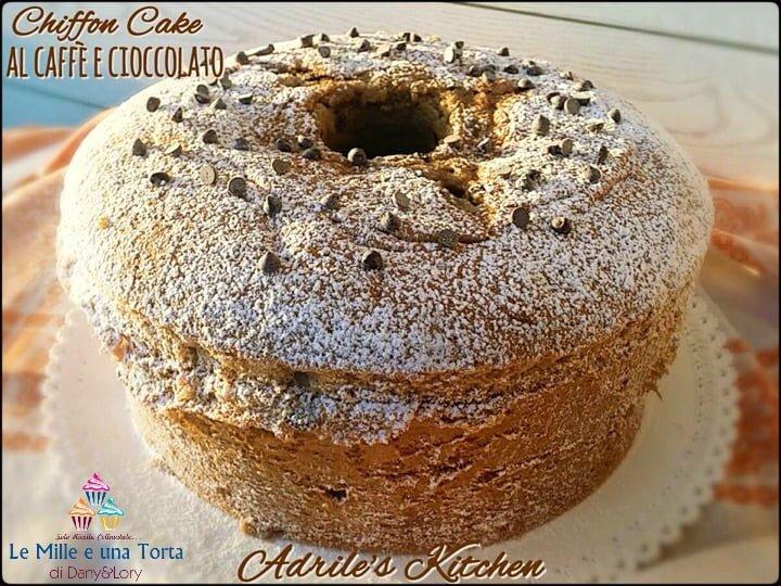 CHIFFON CAKE AL CAFFÈ E CIOCCOLATO