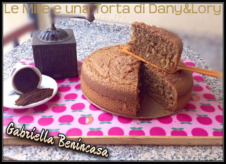TORTA AL CAFFÈ, SENZA GLUTINE E SENZA LATTOSIO