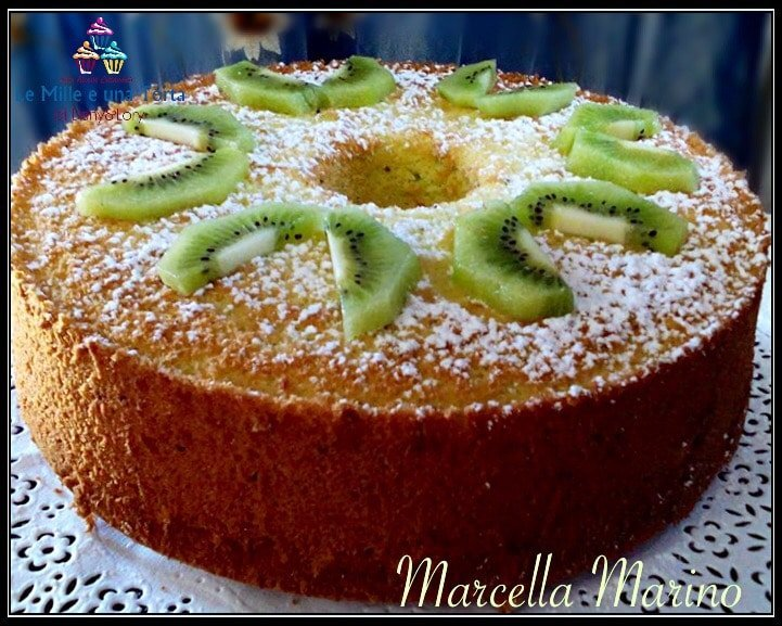 CHIFFON CAKE AL KIWI