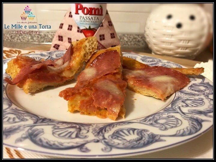 PIZZA MARGHERITA AL SALAME