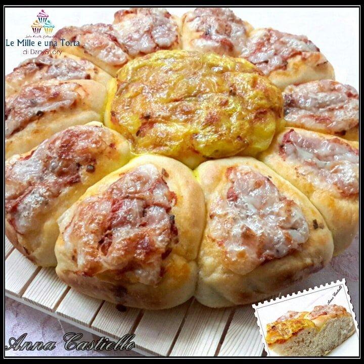 PIZZA MARGHERITA NUVOLA, CON IMPASTO DI PASTICCERIA