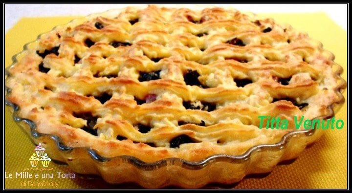 CROSTATA DI PATATE CON SPINACI
