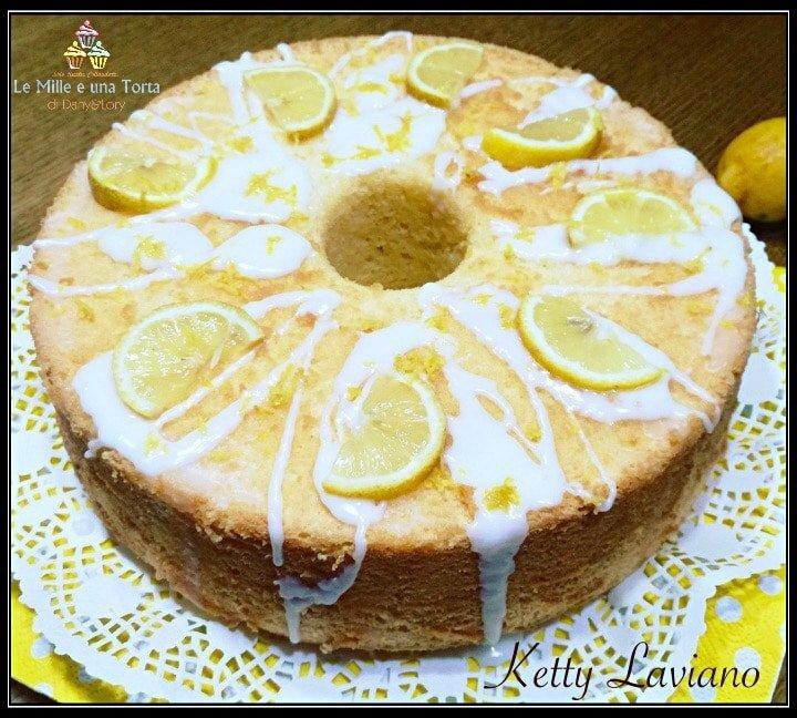 CHIFFON CAKE GLASSATO AL LIMONE