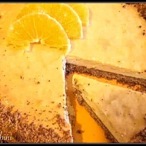 Cheesecake Ricotta E Arancia Cotta In Forno E Cremosissima