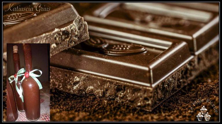 Liquore Al Cioccolato Pronto Da Bere In 3 Giorni