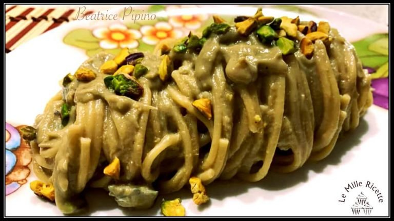 Spaghetti Con Crema Di Carciofi Più 2 Ingredienti Strepitosi
