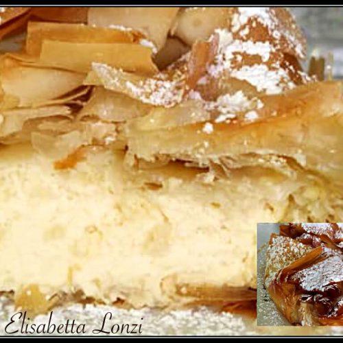 Cheesecake Al Forno Gusto Limone, Con Un Guscio Croccante Che Non Ti Aspetti