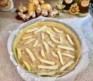 Torta Salata Con Pasta Sfoglia E Ripieno A Sorpresa 3