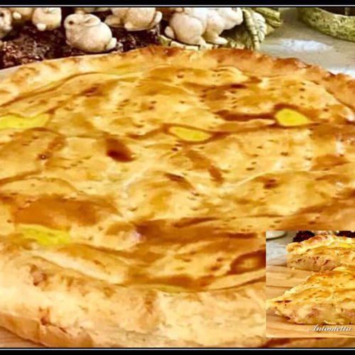 Torta Salata Con Pasta Sfoglia E Ripieno A Sorpresa