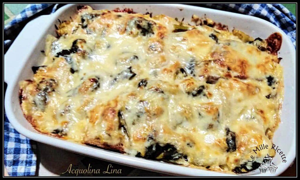 Lasagne Di Pane Al Forno