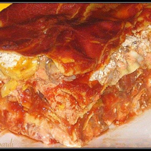 lasagna napoletana, la più gustosa e ricca in assoluto