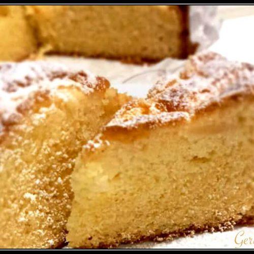 Torta Di Mele Senza Glutine, Ottima Per Intolleranti E Golosi