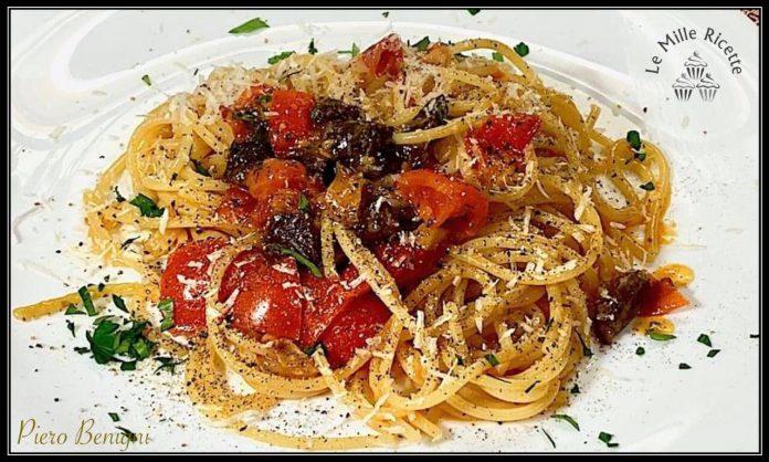 voglia di un piatto semplice e leggero? ecco il primo che fa per te: spaghetti poveri risottati... veloci e gustosi!