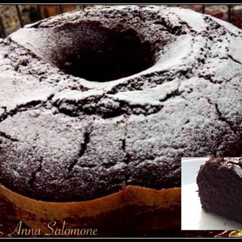 torta al cioccolato vegan | ciambella doppio cioccolato